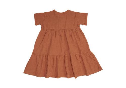 Petit Blush Petit blush - Billie button dress sierra - 3/4 year