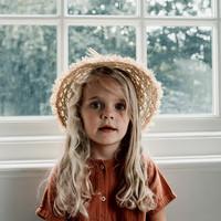 Petit blush - Billie button dress sierra - 3/4 year