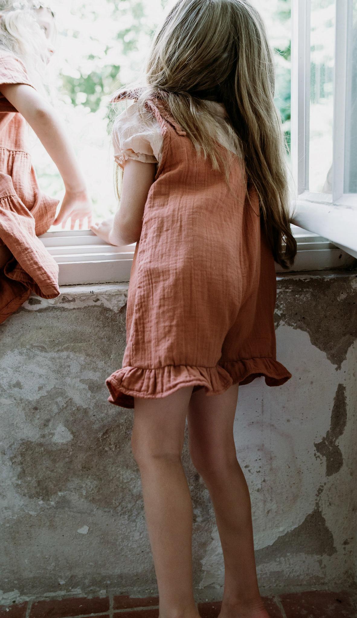 Petit Blush Petit blush - Katie playsuit sierra