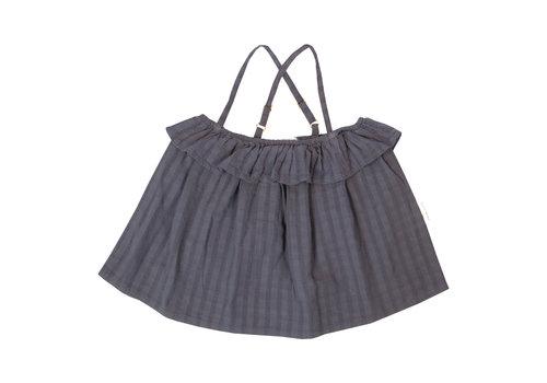 Petit Blush Petit blush - Rosie summer top grisaille