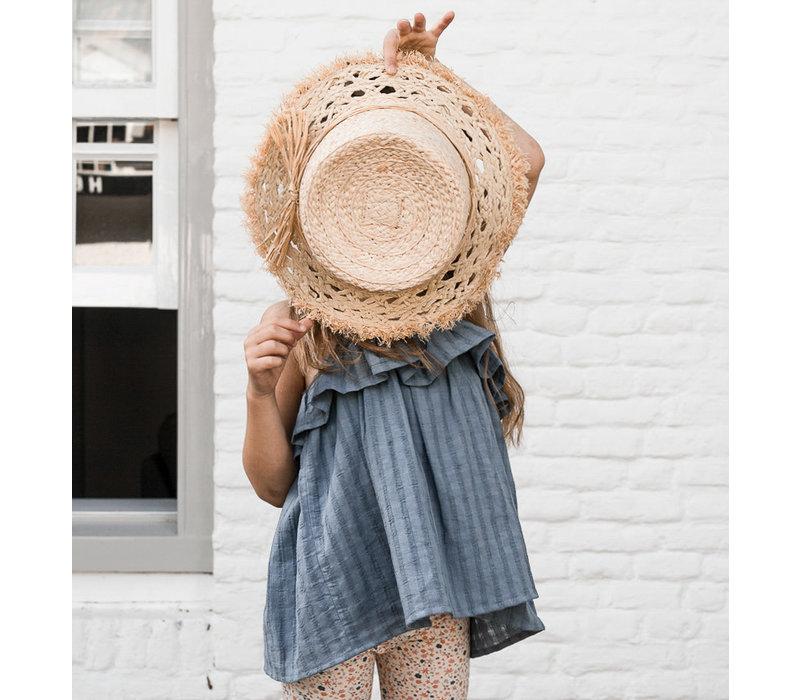 Petit blush - Rosie summer top grisaille