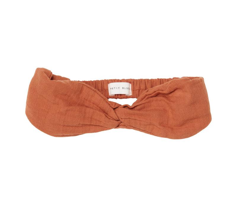 Petit blush - Twisted headband sierra