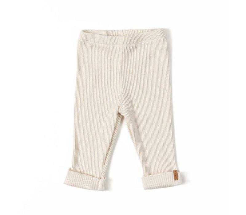 Nixnut - Rib legging cream