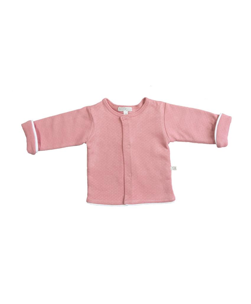 Mats&merthe Mats&Merthe - Vest - Oud roze