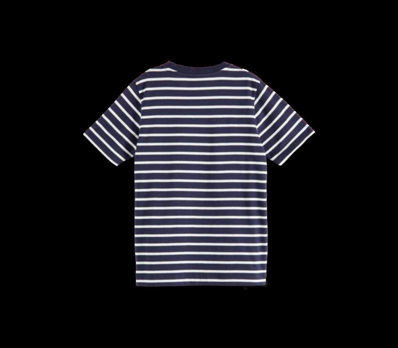 Scotch - T-shirt with chest artwork 0217, 160110