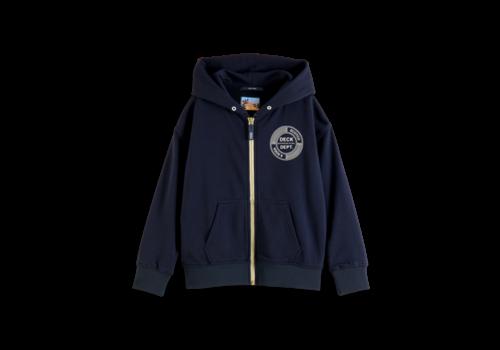 Scotch Shrunk Scotch - Zip through hoodie with artwork 0002, 161949 - 10 year