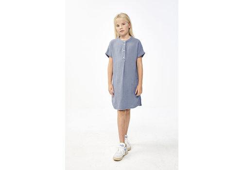 By-Bar By-Bar - Girls otty dress foggy blue