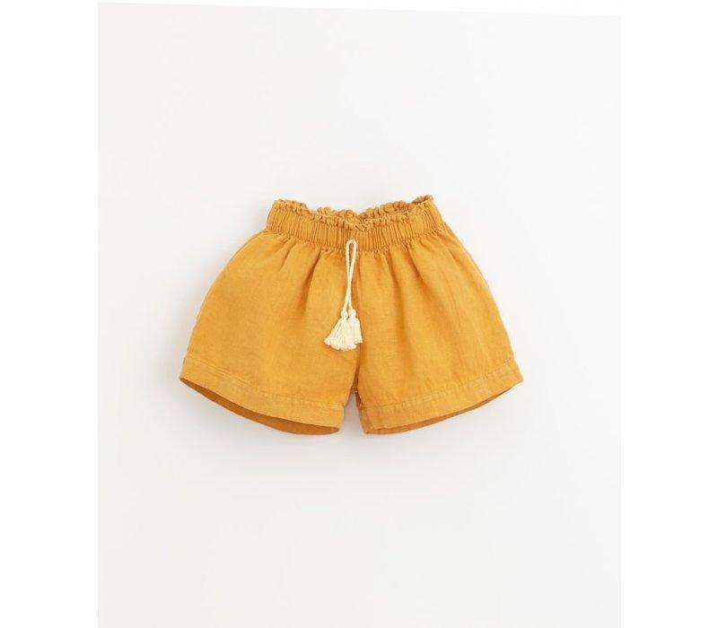 Play up - Linen shorts P1078