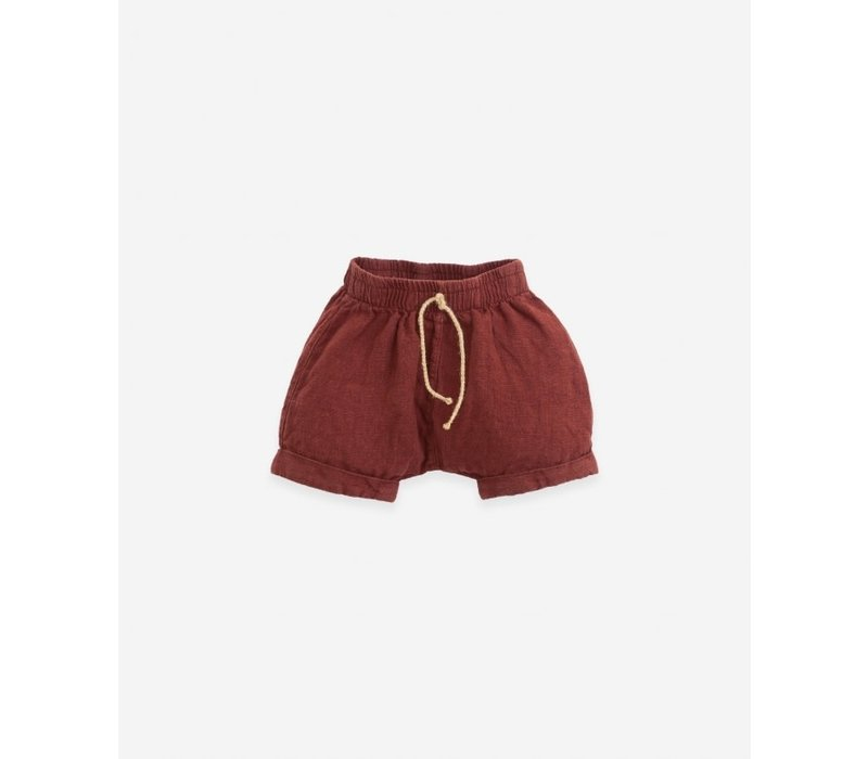 Play up - Linen shorts P4117
