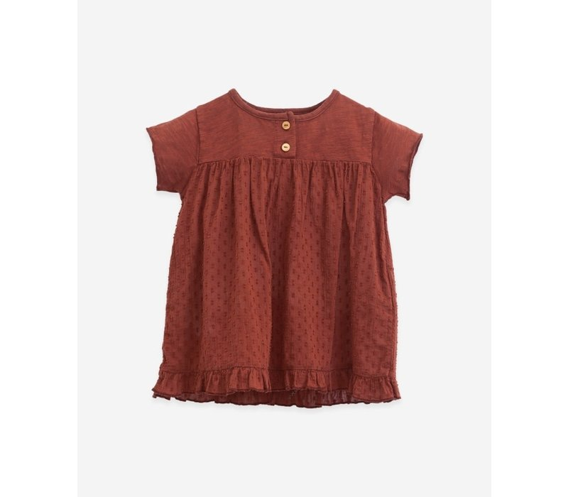 Play up - Dress with buttons P4117