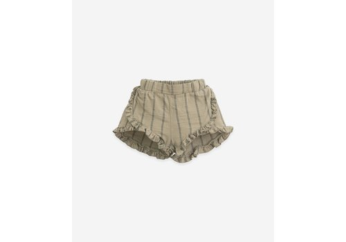 Play Up Play up - Striped woven shorts P7154