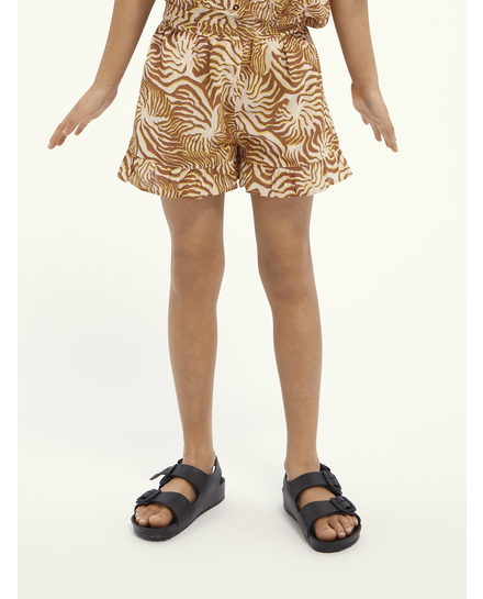 Scotch Rbelle Scotch - Summer short with gathers and ruffle 0221, 161259
