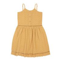 Ammehoela - Lenna.01 mustard yellow - maat 134/140
