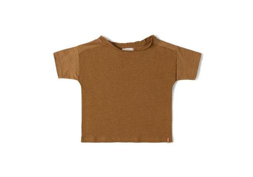 Nixnut Nixnut - Com shirt Caramel