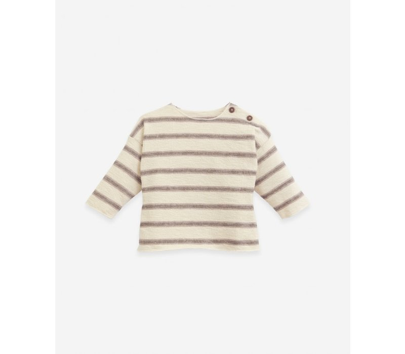 Play up - Striped jersey sweater R261B