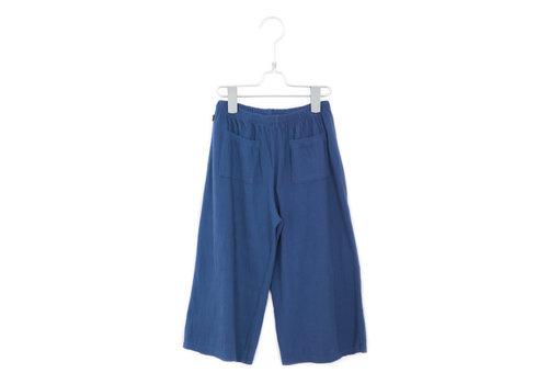 Lotiekids Lötiekids - Culotte pants solid indigo blue