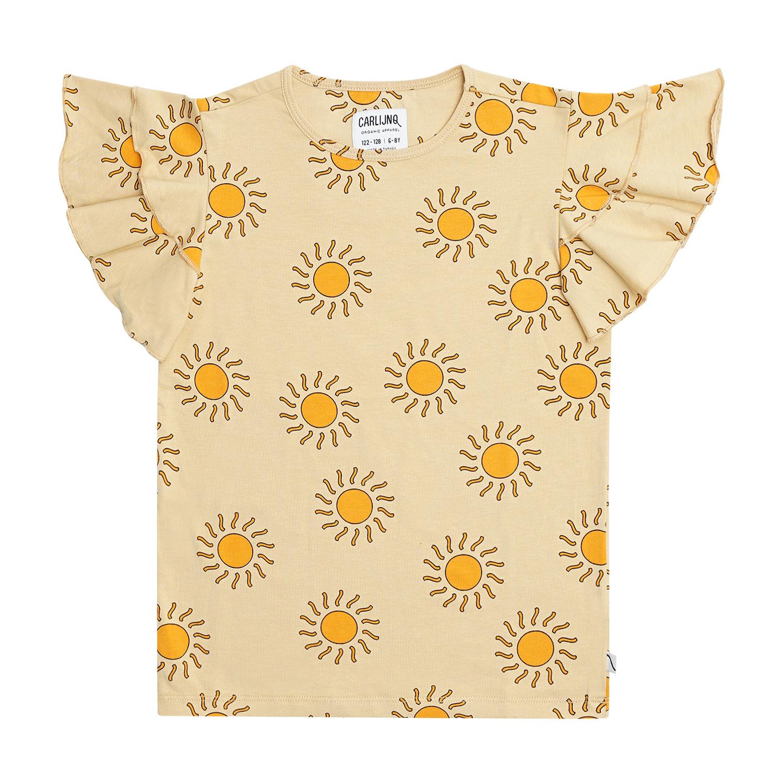 Carlijn Q CarlijnQ - Sunshine ruffled t-shirt