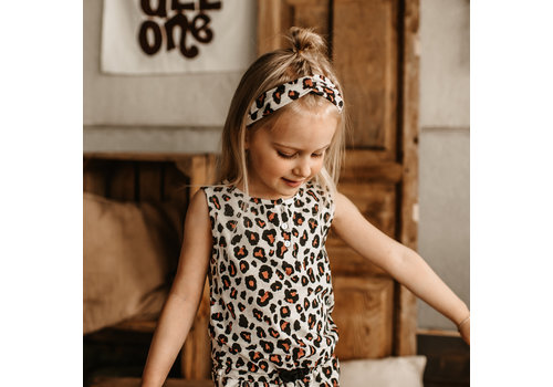 Your Wishes Your wishes - Twisted headband Leopard