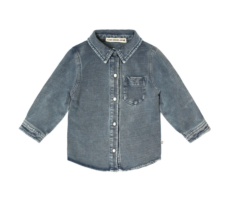 Your Wishes - Shirt Knitted Denim