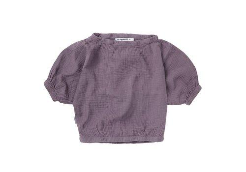 Mingo Mingo - Muslin cropped top lavender - 2/4 year
