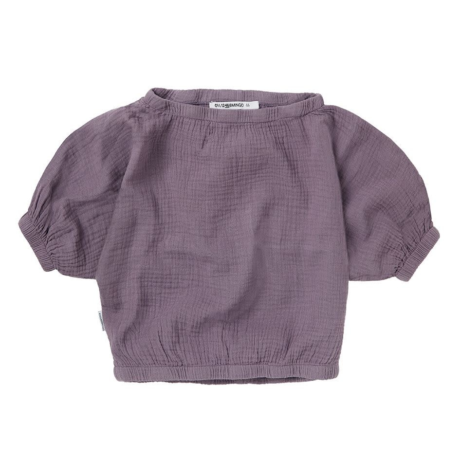 Mingo Mingo - Muslin cropped top lavender