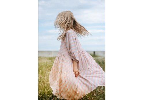 Soft Gallery Soft gallery - Honesty dress dewkist aop candystripe - 10 year