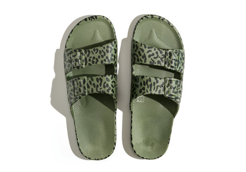 Freedom Moses Freedom moses - PU-slippers fancy leo cactus