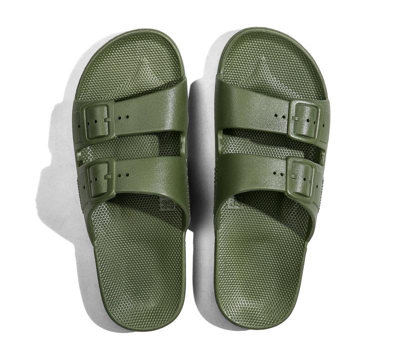Freedom moses - PU-slippers basic cactus