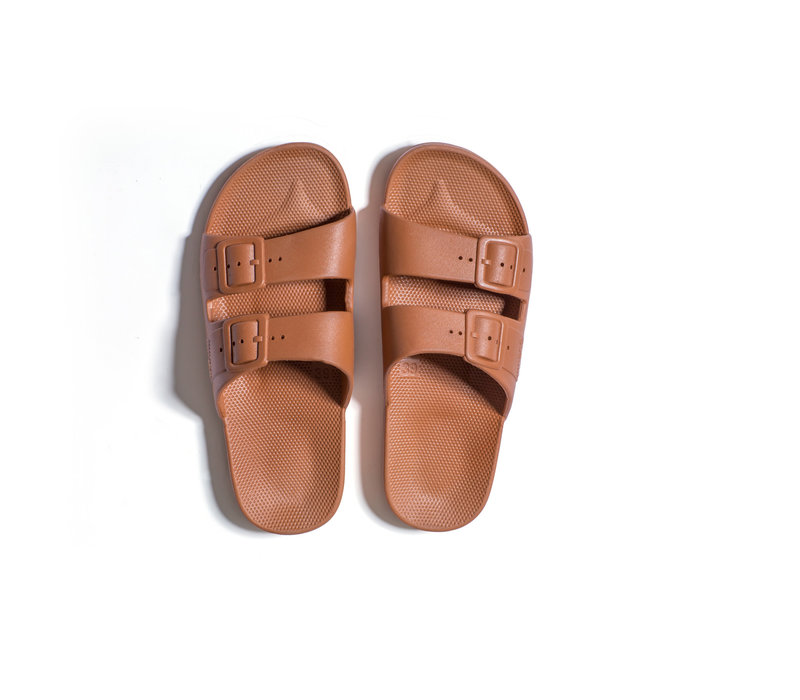 Freedom moses - PU-slippers basic toffee