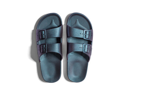 Freedom Moses Freedom moses - PU-slippers fancy twilight
