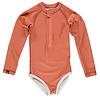 Beach & Bandits Beach & Bandits - Clay ribbed swimsuit