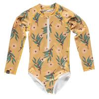 Beach & Bandits - Golden wattle swimsuit - 128/134