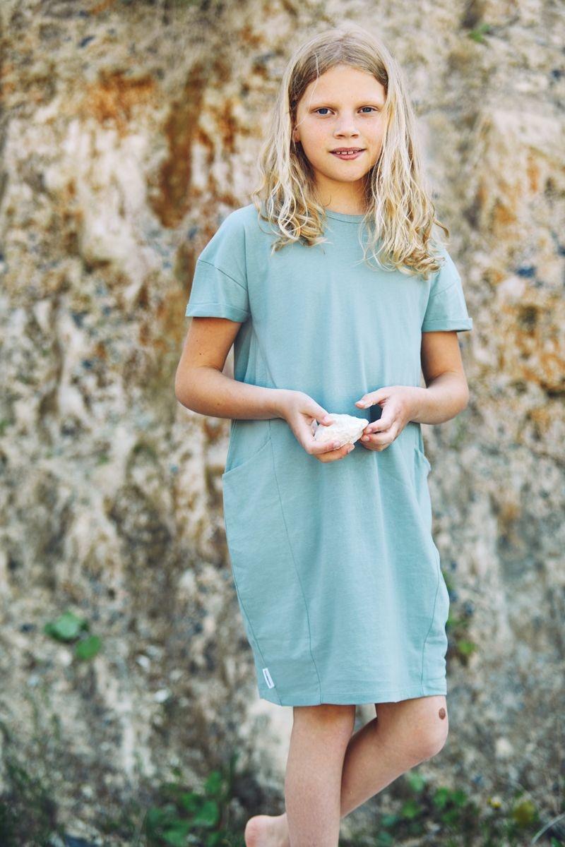 Mingo Mingo - T-shirt dress sea foam