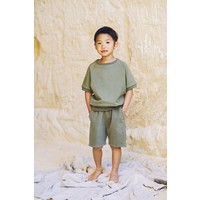 Mingo - Sweat short sage green - 1/2 year