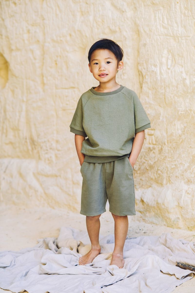 Mingo Mingo - Sweat short sage green