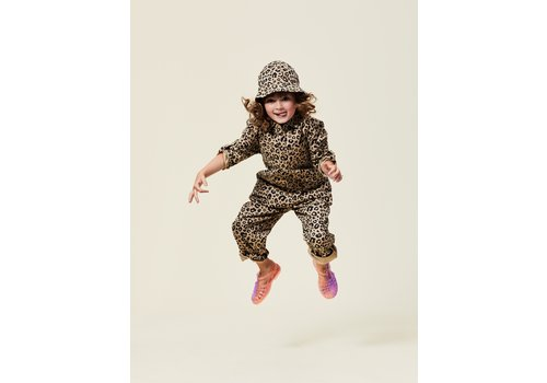 Maed For mini Maed for mini - Caramel leopard aop jumpsuit  8 year