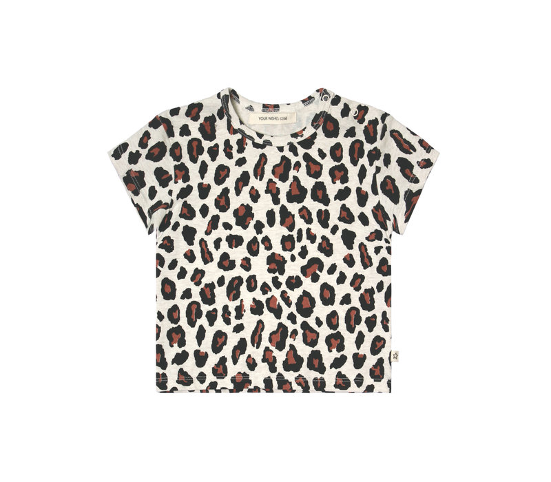 Your Wishes - Loose Tee Leopard