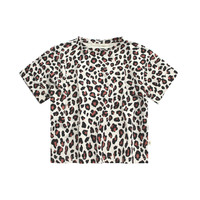 Your Wishes - Wide Tee Leopard - 110/116