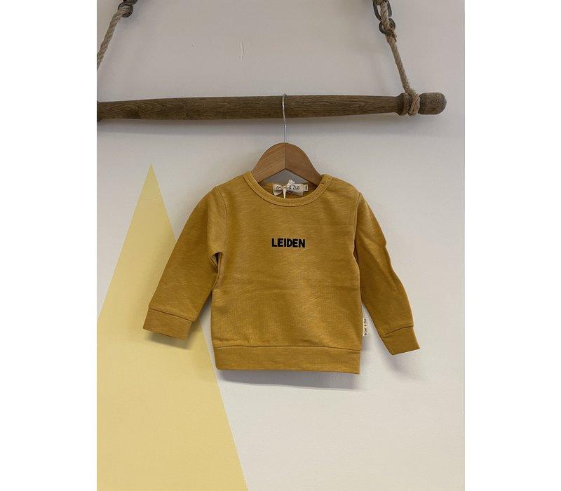 Broer & Zus - Sweater Leiden Mustard