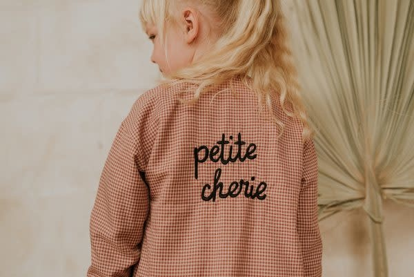 Sproet & Sprout Sproet&Sprout - Jacket mini check petite cherie