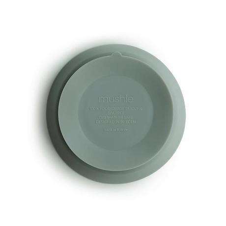 Mushie Mushie - Silicone Bowl Cambridge Blue met zuignap