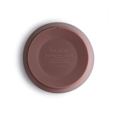 Mushie Mushie - Silicone Bowl Cloudy Mauve met zuignap