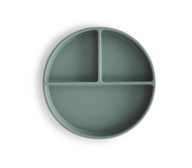 Mushie - Silicone Plate Cambridge Blue