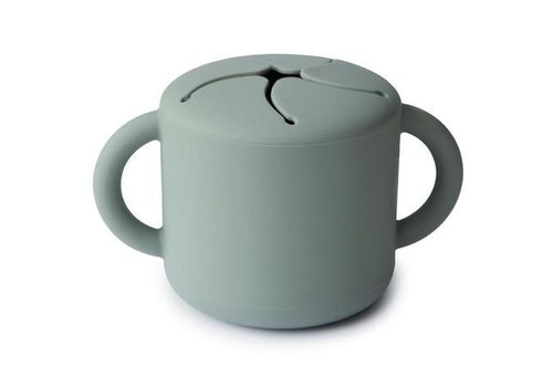 Mushie Mushie - Snack cup Cambridge blue
