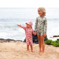 Beach & Bandits - Aloha palm longsleeve tee - 92/98