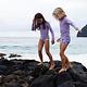 Beach & Bandits Beach & Bandits - Lavender ribbed swimshort