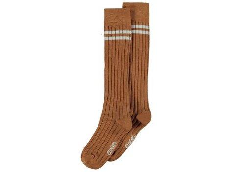 Ewers Ewers - Socks Rib toffee