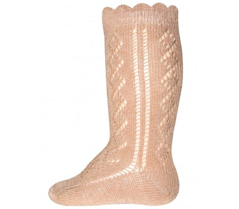 Ewers - Knee High socks crochet lace brick