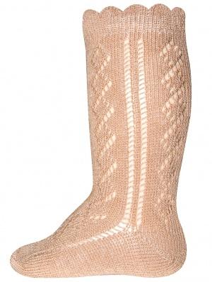 Ewers Ewers - Knee High socks crochet lace brick