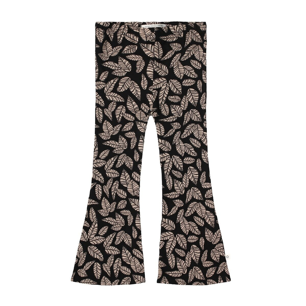 Your Wishes Your Wishes - Flared Legging Leaves